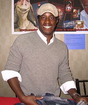 Ahmed Best - Best during his first convention appearance at the Big Apple Convention in Manhattan, October 2, 2010