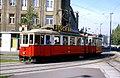 108R30240983 Strassenbahn, Julius Raab Platz, Blick Richtung Schwedenplatz, Sonderfahrt, Typ M 4151.jpg