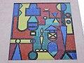 1210 Ostmarkgasse 54 - Glasmosaik Abstrakte Komposition von Josef Mikl 1959 IMG 0410.jpg