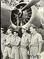 13 Squadron RAAF Hudson aircrew Hughes NT Feb 1943 AWM NWA0075-crop.jpg