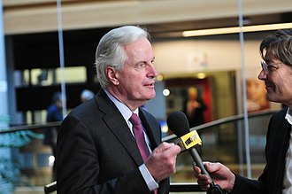 Michel Barnier - Michel Barnier in the European Parliament in 2014