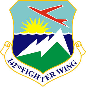 Portland Air National Guard Base - Image: 142d Fighter Wing