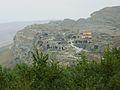 143 Cité troglodytique d'Ouplistsikhé près de Gori vue d'ensemble (habitée jusqu'au début du XXe siècle-.JPG