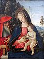 1500 Pinturicchio Maria mit dem Kind un dem hl. Hieronymus anagoria.JPG