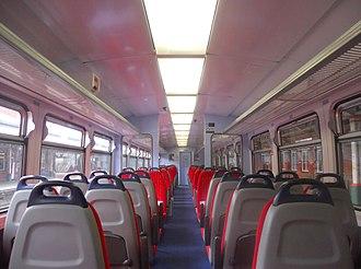 British Rail Class 153 - Image: 153310 Interior