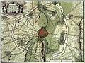 1673 Beleg van Maastricht, circumvallatie door Franse troepen.jpg