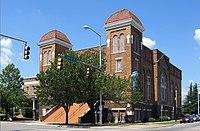 16th Street Baptist Church à Birmingham où eu lieu l'attentat le 15 septembre 1963