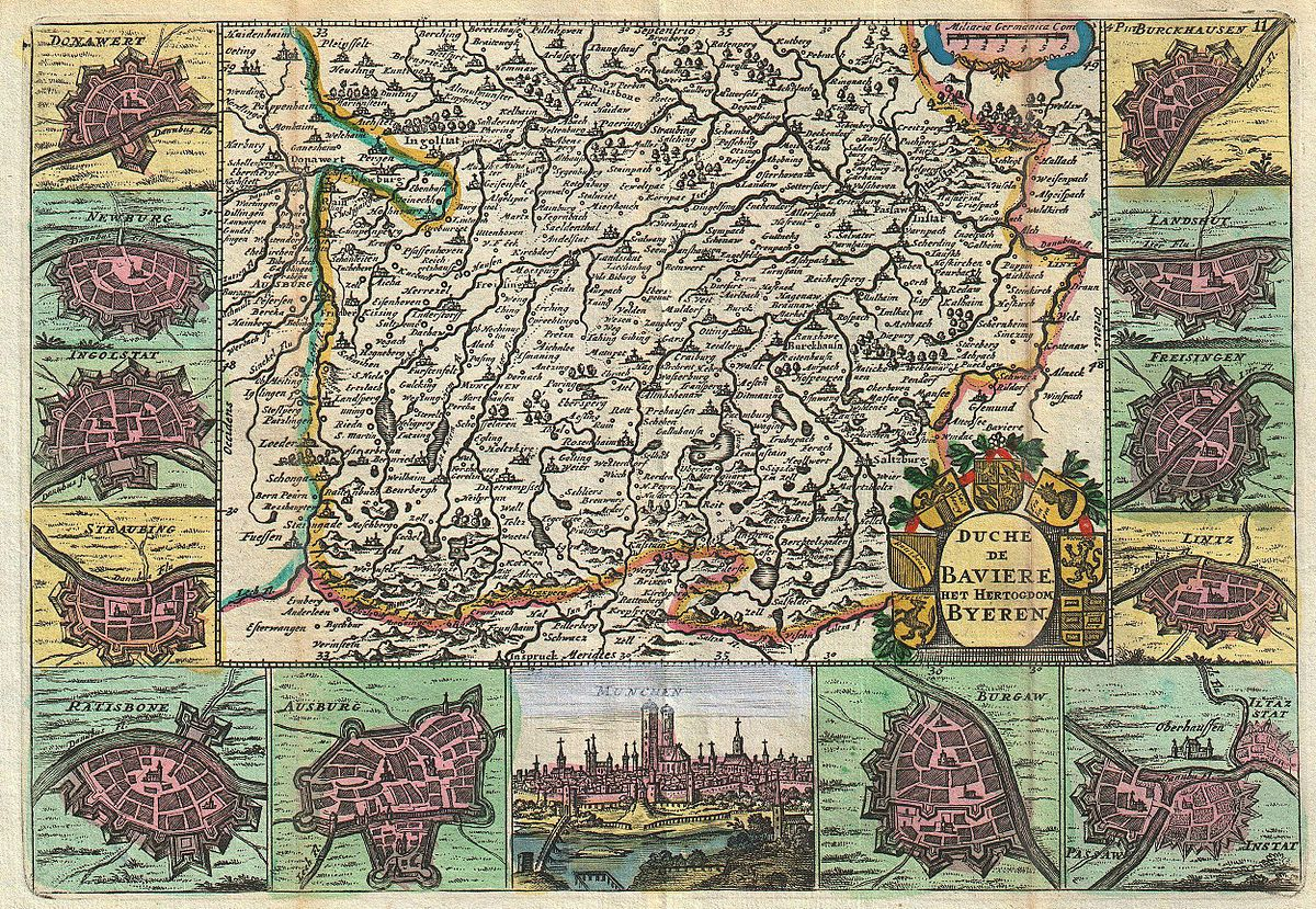 Histoire de la bavi re wikip dia for Histoire des jardins wikipedia