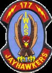 177th Information Warfare Aggressor Squadron - Emblem.png