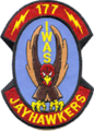 177th Information Warfare Aggressor Squadron - Emblem.png