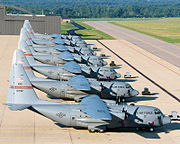 179th Airlift Wing C-130 Hercules