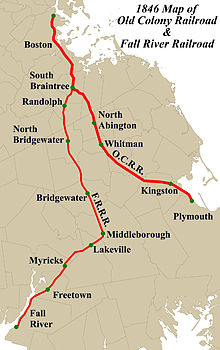 South Coast Rail Wikipedia - Us map of commuter railroads