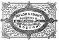 1851 Taylor BostonDirectory.png