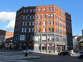 Bulfinch Triangle Historic District - 1887 Lockhart Building