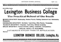 1901 Lexington Business College Kentucky.png