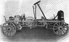 1906 Lambert runabout chassis