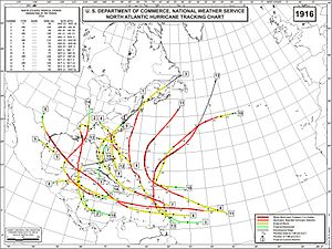1916 Atlantic hurricane season