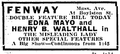 1916 FenwayTheatre BostonGlobe January15.png