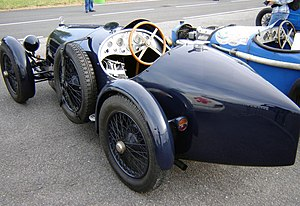 Bollack Netter and Co - Rear view of 1927 B.N.C. 527