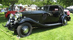 Rolls-Royce Phantom II Continental Sedanca Coupé coachwork by Gurney Nutting (1933)