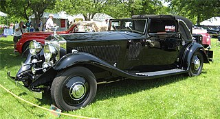 Rolls-Royce Phantom II car model