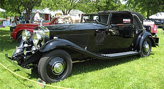 Rolls-Royce Phantom II - Image: 1933 Rolls Royce Phantom II Continental