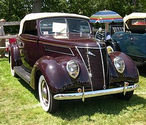 1937 Ford - 1937 Ford convertible