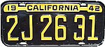 1942 California passenger license plate.jpg