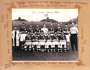Football at the 1948 Summer Olympics – Men's team squads - Image: 1948 Eire Olympic Soccer Team