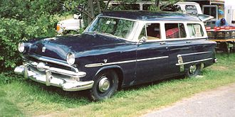 Ford Country Sedan - Image: 1953 Ford Country Sedan