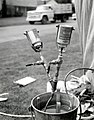 1961. Gas applicator and volatilizer used for dispensing 1 2 pound and 1 pound amounts from cans of methyl bromide. European pine shoot moth control. (34390923135).jpg