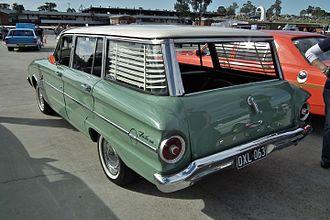 Ford Falcon (Australia) - XL Falcon Deluxe wagon
