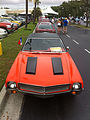 1969 AMC Javelin with Mod hood scoops at 2014-AMO-NC meet 1of4.jpg