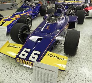 1972 Indianapolis 500 - Image: 1972Mark Donohue Indy 500