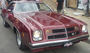 Chevrolet Chevelle Laguna - 1976 Chevrolet Chevelle Laguna Type S-3 coupe