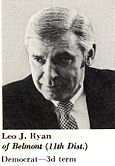 Official Congressional Photo of Leo Ryan