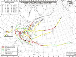 Timeline of the 1985 Atlantic hurricane season