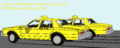 1987 Chevrolet Caprice Jackson, Mississippi Yellow Cabs.png