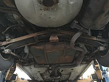 1996 buick regal with transverse leaf spring rear suspension