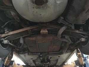 GM W platform - 1996 Buick Regal with Transverse leaf spring rear suspension