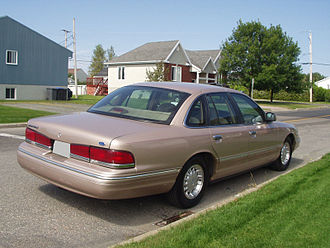 Ford Crown Victoria - Facelift Ford Crown Victoria