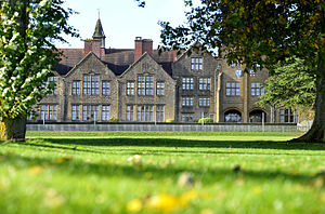 Sherborne School for Girls - Sherborne Girls main school building