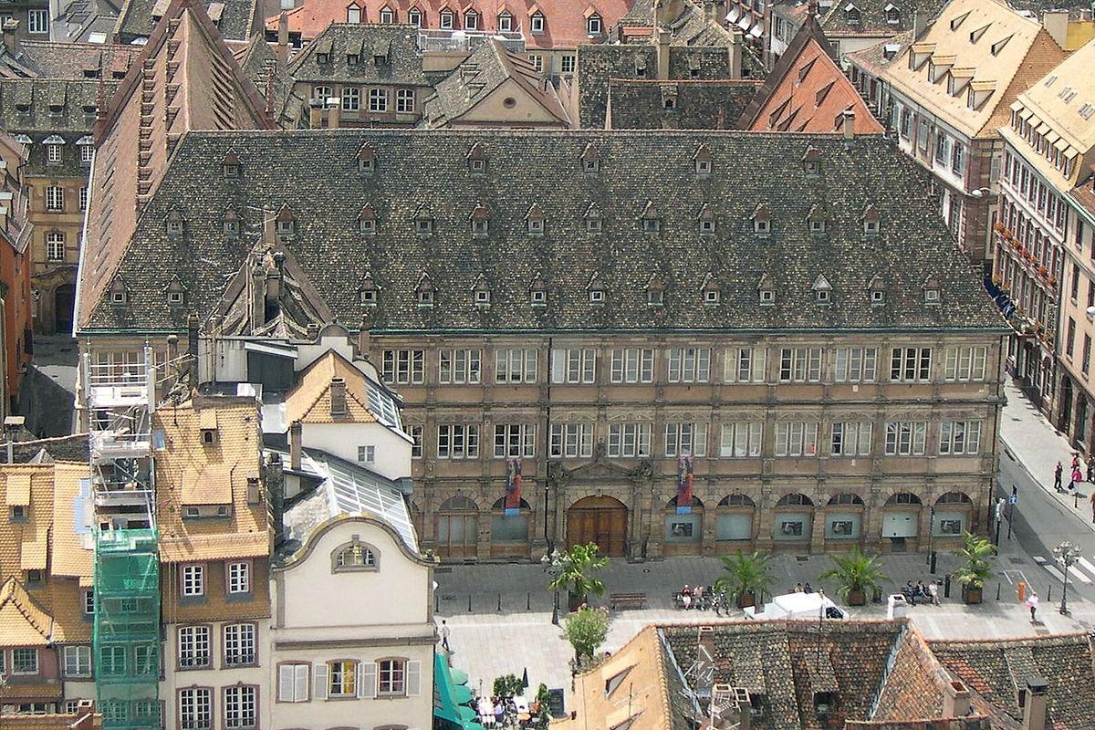 Chambre de commerce et d 39 industrie de strasbourg et du bas rhin wikip dia - Chambre du commerce evry ...