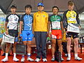 2008TourDeTaiwan Stage7 Winners from TaipeiCountyStage.jpg