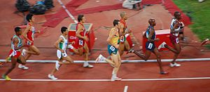 Athletics at the 2008 Summer Olympics – Men's 5000 metres - 2008 Summer Olympics - Men's 5000m Round 1 - Heat 3