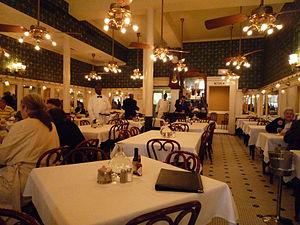 Galatoire's - The first floor dining room of Galatoire's.