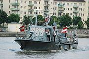 2010-07-20 0005 Wien02 Mexikoplatz ex OeBH-Patrouillenboot Niederoesterreich