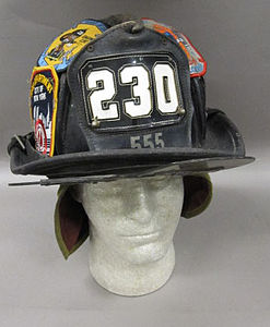 2011-191-2 Helmet, Fireman, Fire Department New York, Obverse.jpg