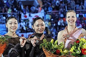 2011 World Figure Skating Championships - The ladies' medalists