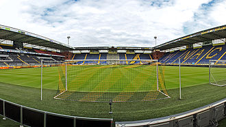Rat Verlegh Stadion - View from the goal of Vak G towards the B-side